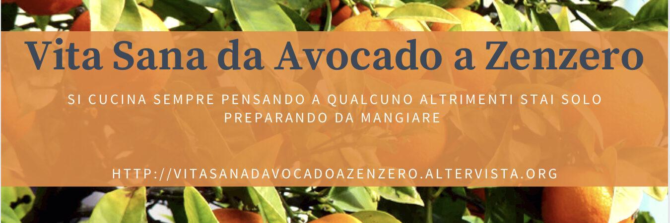 Vita Sana Da Avocado A Zenzero